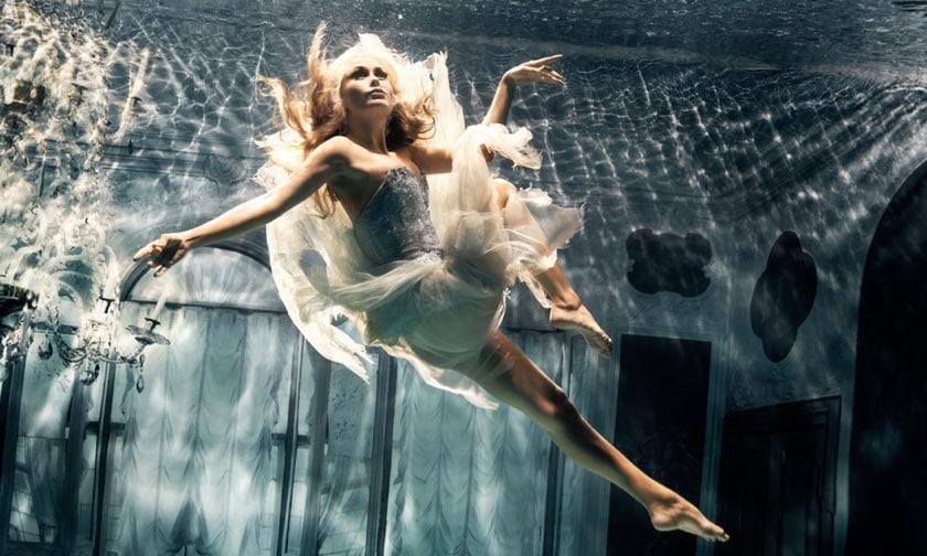 Underwater High Fashion Photography