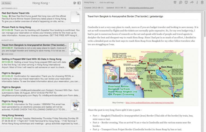 Evernote_itineraries