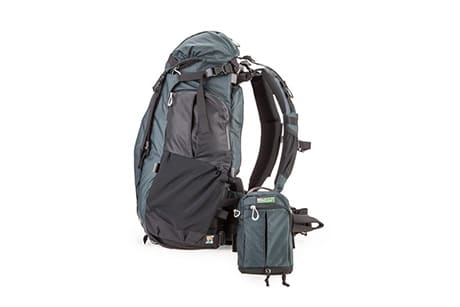 Lens Switch Case on Rotation 180 Backpack