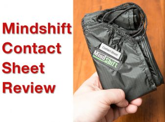Mindshift Contact Sheet Review – Ground Protection for Photo Gear