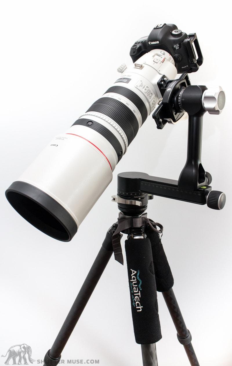 Canon 200-400 gimbal setup