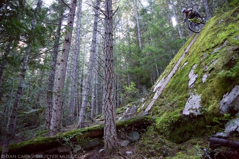 Dan Carr Mountain Bike Self Portraits with Pocketwizards
