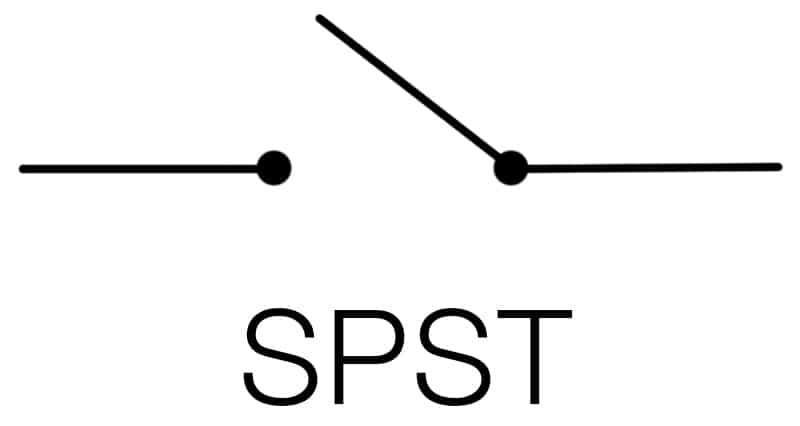 SPST switch for pocketwizard