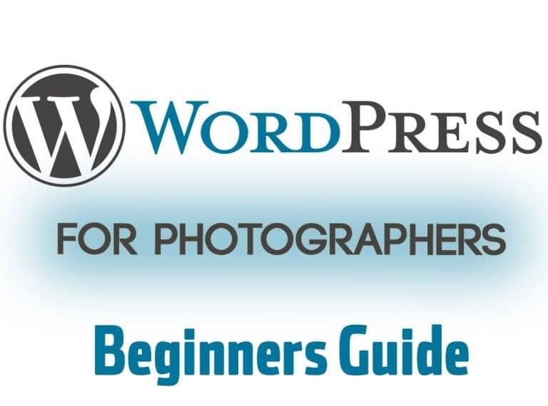 Wordpress for photographersWordpress_beginners