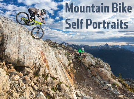 Self Portrait Mountain Bike Photos With Pocketwizards