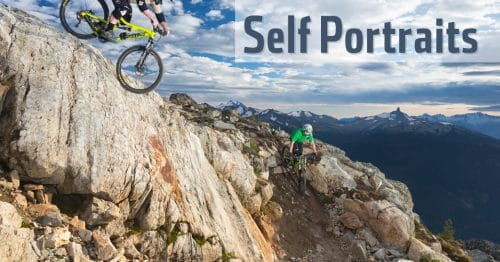 Mountain bike self portraits dan carr