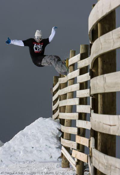snowboard single flash