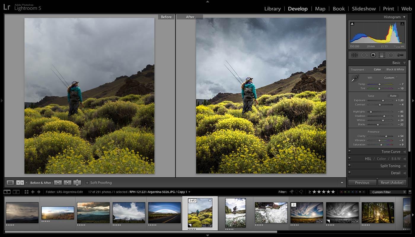 Как улучшить пейзаж в фотошопе