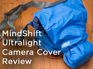MindShift Ultralight Camera Cover Review