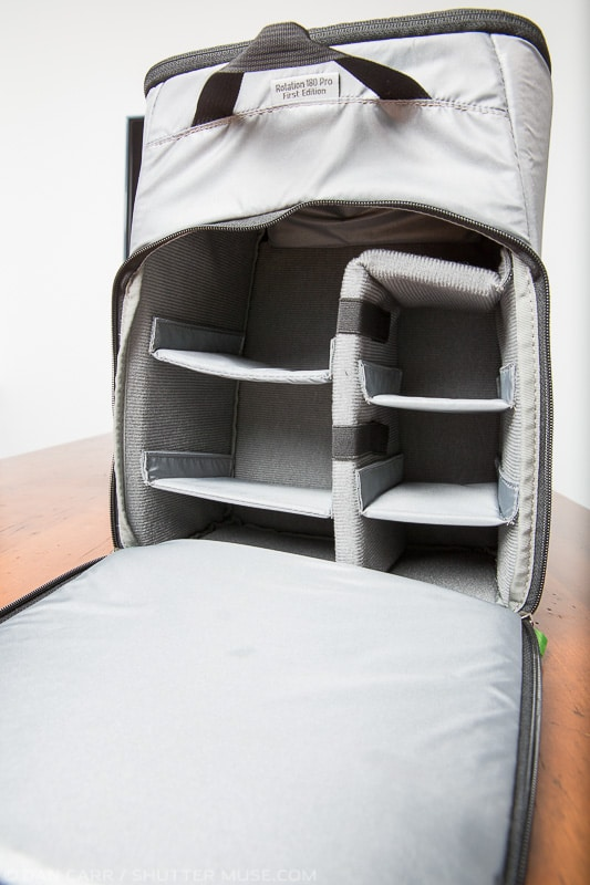 Mindshift padded insert