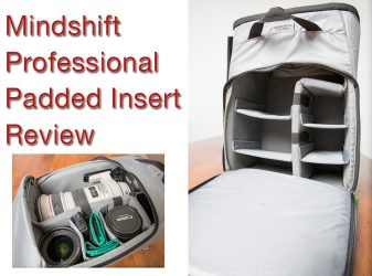 Mindshift Professional Padded Insert Review