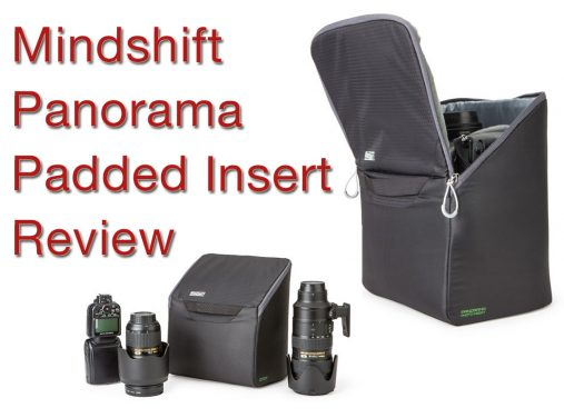 Mindshift Panorama Padded Insert Review