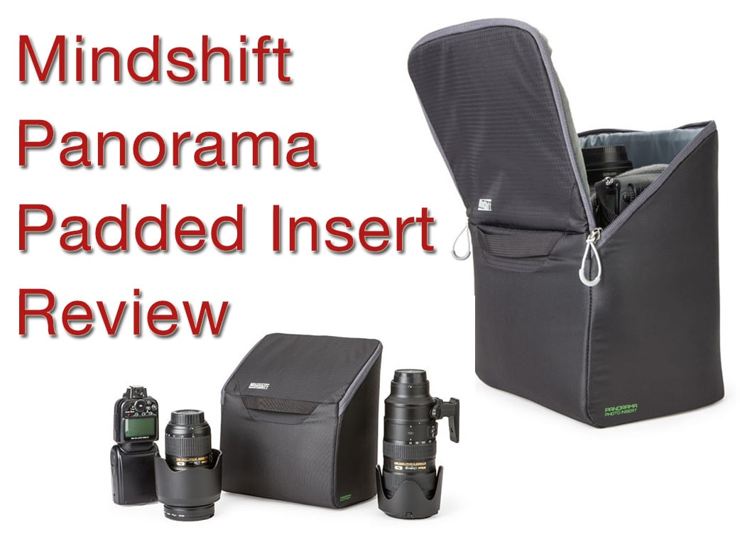 mindshift panorama padded insert
