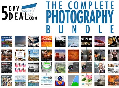 Save 94% On Photography eBooks, Videos & Presets