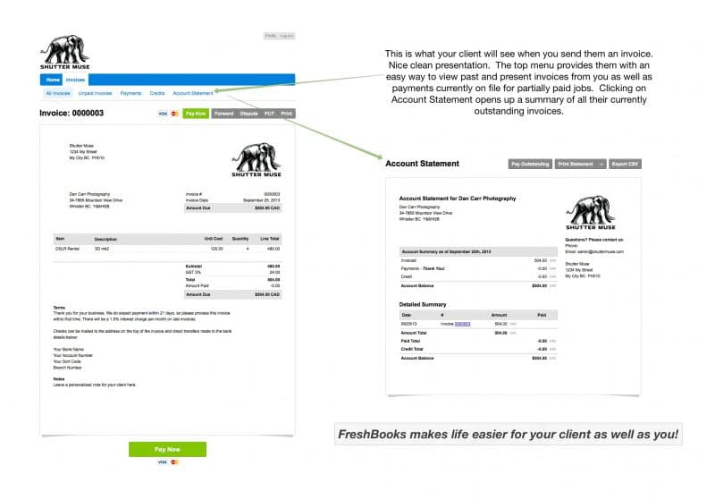 Freshbooks-invoice-clientview