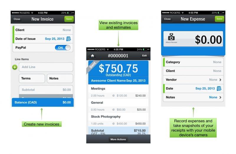 Freshbooks-mobile-apps