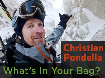 Christian Pondella  – What's In Your Bag?