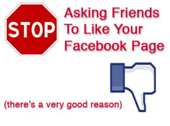 Why You Shouldn't Ask Friends And Family To 'Like' Your Facebook Page