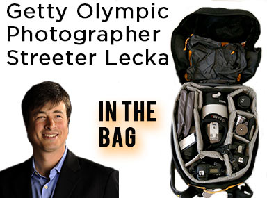 Inside The Bag Of Getty Images Olympic Photographer Streeter Lecka