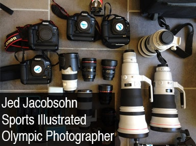 olympic photography gear