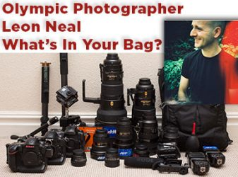 Inside The Bag Of AFP Olympic Photographer Leon Neal