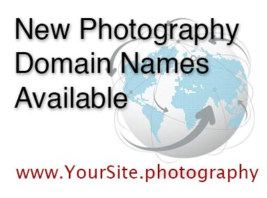 New Photography Related Domain Names Available