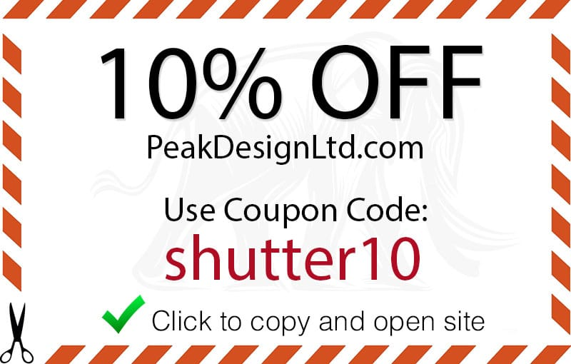 Peak design coupon code