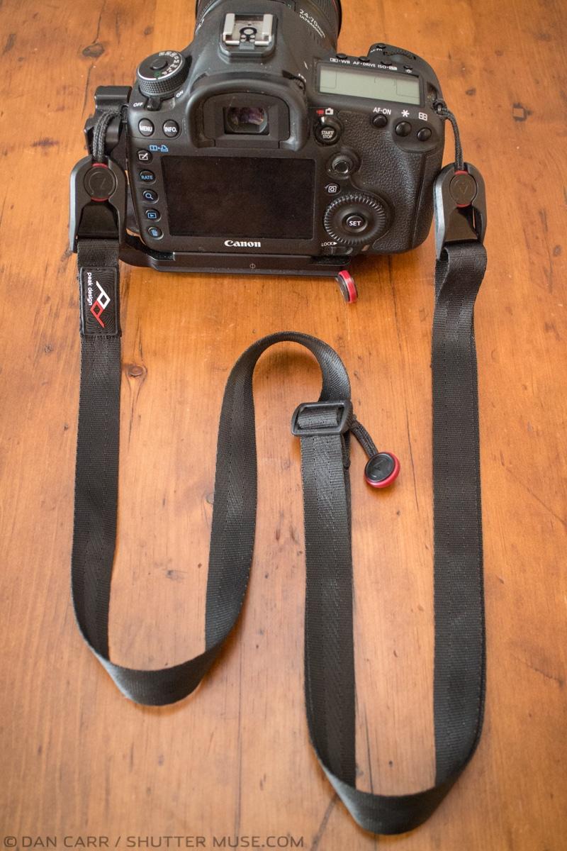 Peak design leash camera strap