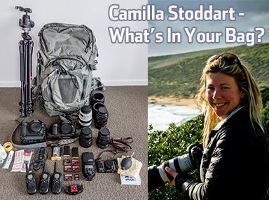 Camilla Rutherford – What's In Your Bag?