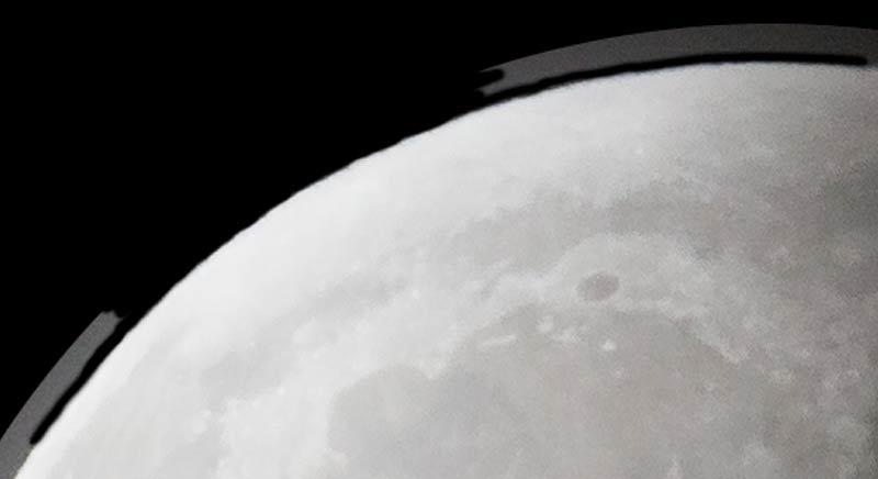 photoshop the moon