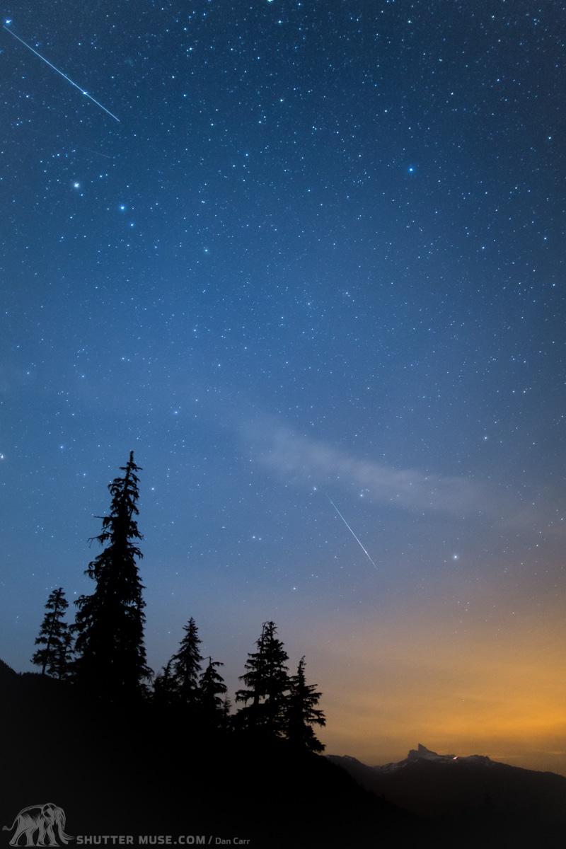 Meteors Over Black Tusk