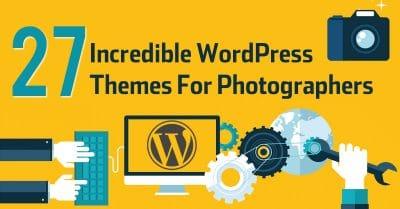 27 Incredible WordPress Photography Themes