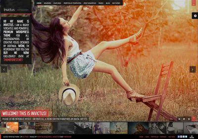 invictus-wordpress-photography-theme