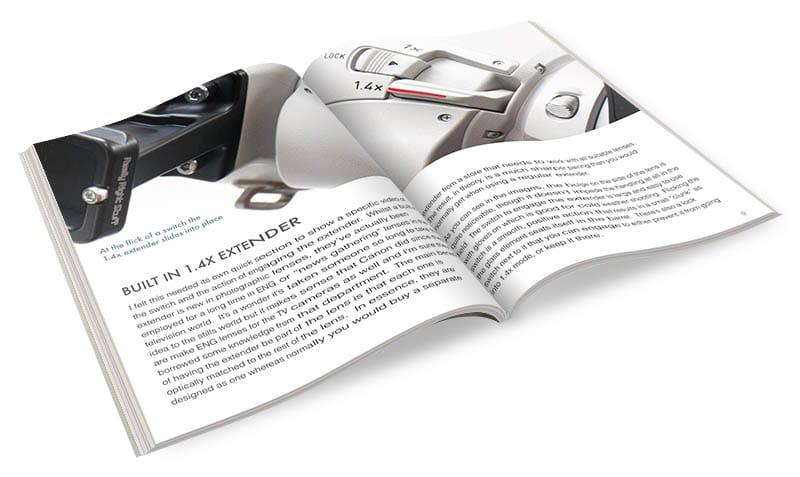 Canon 200-400 review ebook