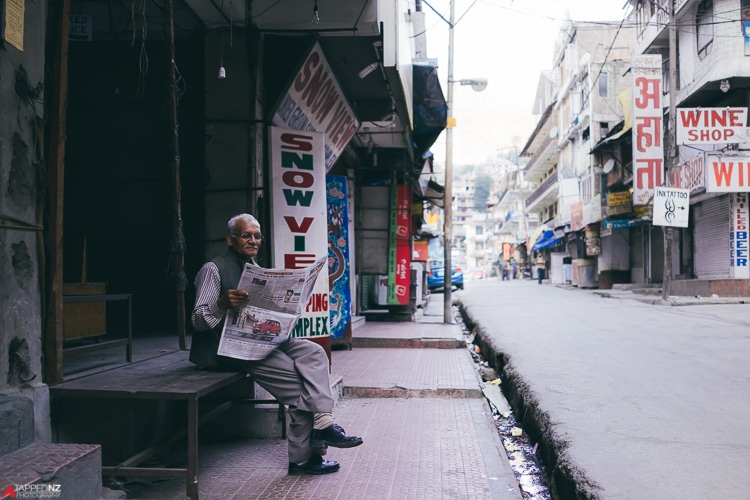 peaceful town of Manali, India. Shot on Sony RX1R