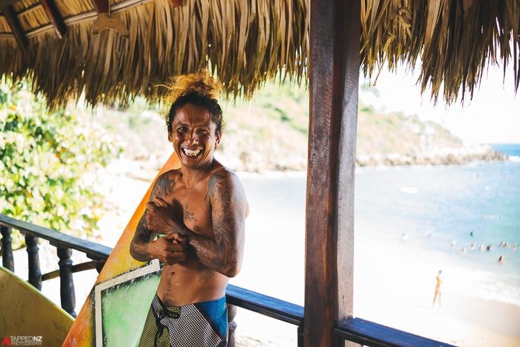 Julio Sanchez, teaches surfing in Puerto Escondido, Meixco. Shot on Sony RX1R