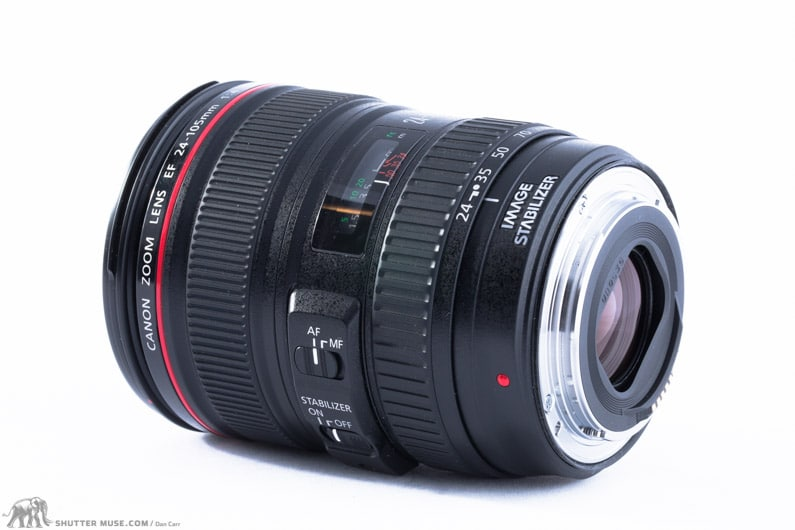 Canon 24-105 f4 l is review
