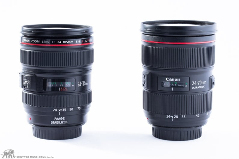 Canon 24-107 vs canon 24-70