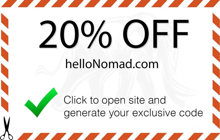 Little nomad coupon code