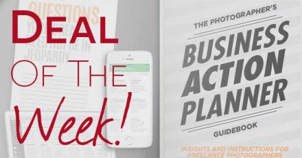 Ended: Save 20% On The Photographer's Business Action Planner