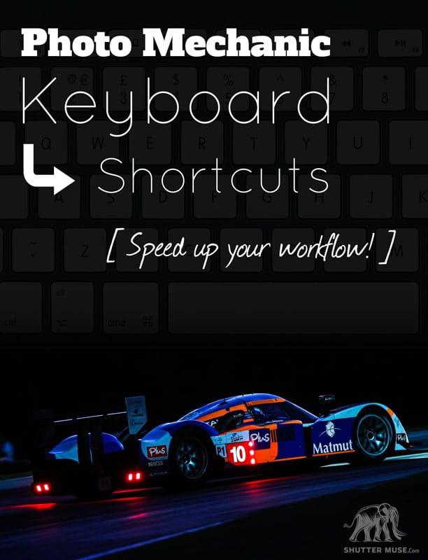Photography Keyboard Shortcuts - Free Downloads