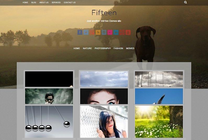 fifteen-free-wordpress-theme