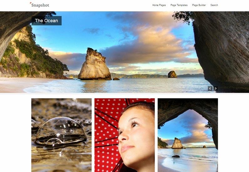 snapshot-free-wordpress-theme