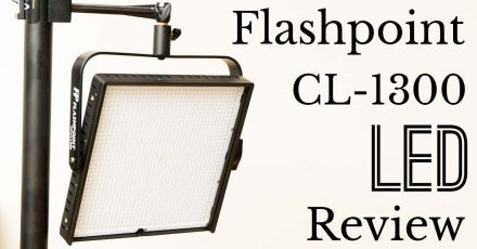 Flashpoint CL-1300 LED Review – 1×1 PanelLight