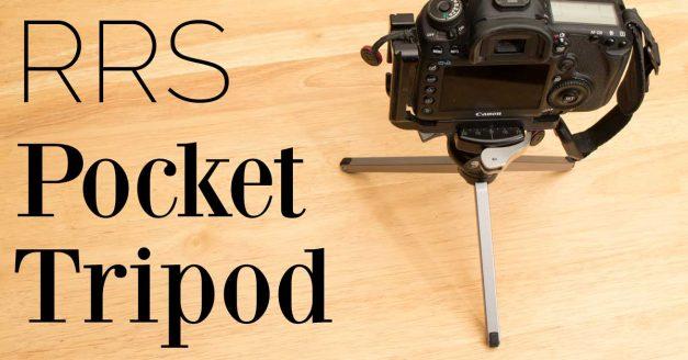 Really Right Stuff TFA-01 Pocket Tripod Review