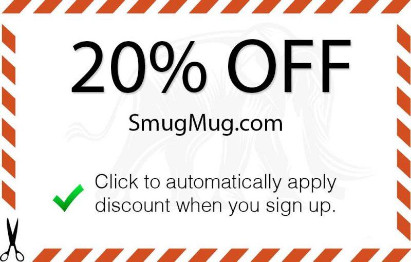 SmugMug Coupon Code - Save 20% - Shutter Muse