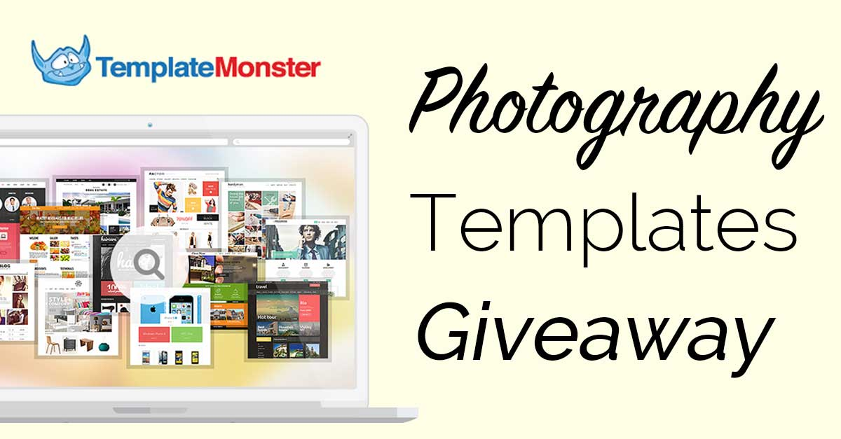 Win A FREE Photography WordPress Theme