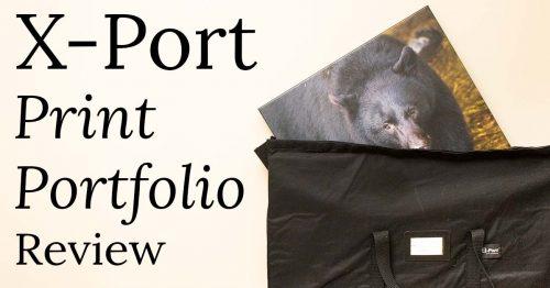 x-port print portfolio review