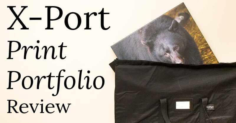 x-port print portfolio review