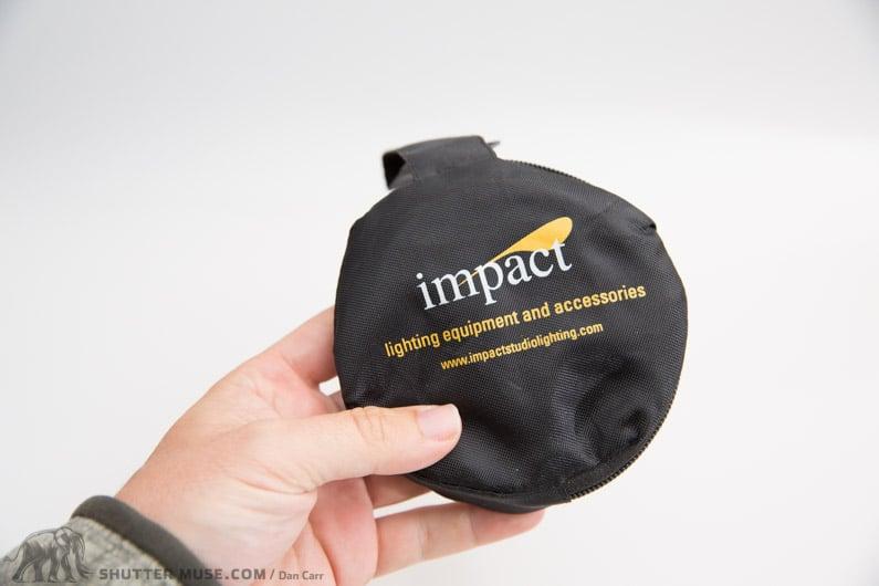 pocket diffuser for macro shooting